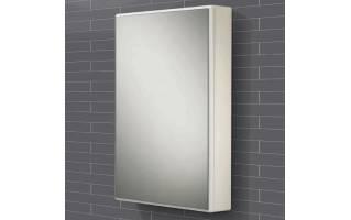 HIB Tulsa White Gloss Bathroom Cabinet 500 x 700mm