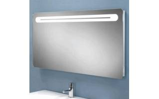 HIB Vortex Steam Free LED Mirror with Charging Socket 800 x 450mm