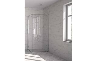 Merlyn 10 Series Pivot Shower Door with Tray 800mm