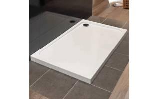 Merlyn MStone Rectangular Shower Tray with Waste 900 x 760mm