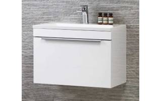 Roper Rhodes Cypher 600mm Wall Mounted Unit with Basin Gloss White