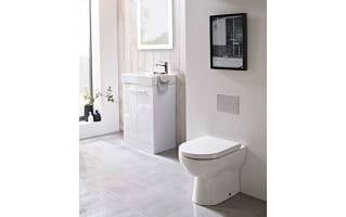 Tavistock Ion Comfort Height Back to Wall WC Pan