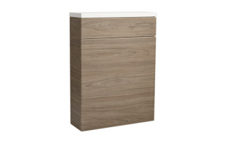 Roper Rhodes 570 Back To Wall WC Unit with Worktop Dark Elm