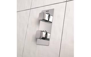 Bristan Cobalt Thermostatic Recessed Single Outlet Shower Valve