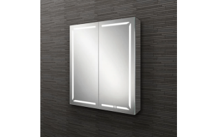 HIB Groove 80 LED Demisting Bluetooth Bathroom Cabinet 800 x 700mm