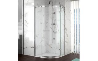 Merlyn 8 Series 1 Door Quadrant Frameless Shower Enclosure 800 x 800mm