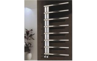 Reina Celico Stainless Steel Heated Towel Rail 585 x 500mm