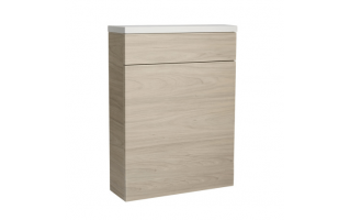 Roper Rhodes 570 Back To Wall WC Unit with Worktop Light Elm