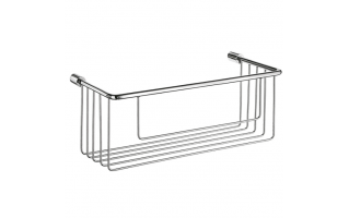 Smedbo Sideline Soap Basket Polished Chrome 267 x 117  x 105mm