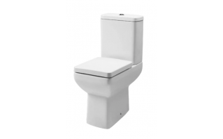 Tavistock Q60 Comfort Height Close Coupled Pan with Cistern