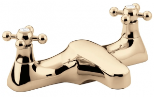 Bristan Regency Bath Filler Gold