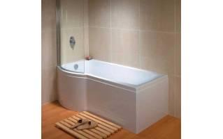 Carron Aspect Shower Bath 1700 x 700/800mm Left Hand
