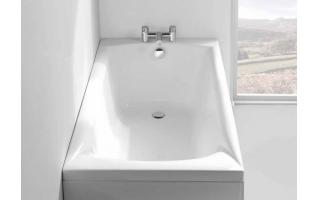 Carron Delta Single Ended Carronite Bath 1600 x 700mm