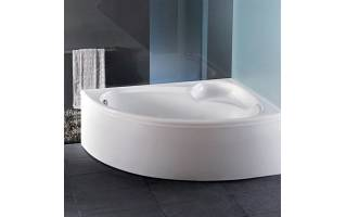 Carron Dove Corner Bath 1550 x 950mm Left Hand