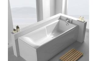 Carron Eco Matrix Single Ended Carronite Bath 1600 x 700mm