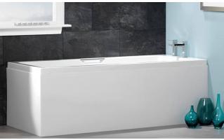 Carron Integra Twin Grip Single Ended Carronite Bath 1600 x 700mm