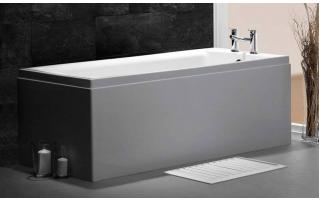 Carron Quantum Single Ended Carronite Bath 1600 x 700mm