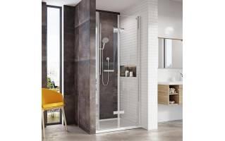 Roman Innov8 Bi-Fold Shower Door Alcove Fitting 760mm