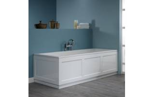 Roper Rhodes 800 Series 1700mm Gloss White Bath Front Panel