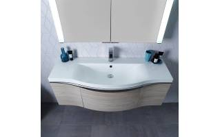 Roper Rhodes Serif 1200mm  Wall Mounted Unit with Basin Light Elm