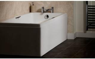 Carron Eco Integra Twin Grip Single Ended Bath 1500 x 700mm