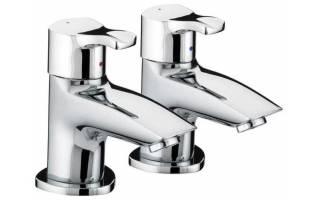 Bristan Capri Bath Taps Chrome