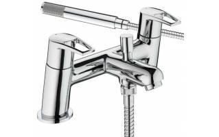 Bristan Smile Bath Shower Mixer Tap Chrome