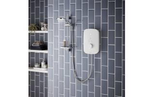 Bristan Solis 8.5kw Electric Shower White
