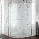 Merlyn 8 Series 1 Door Offset Quadrant Frameless Enclosure Left Hand 1000 x 800mm with Tray