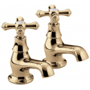 Bristan Colonial Bath Taps Gold