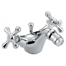 Bristan Colonial Bidet Mixer with Pop Up Waste Chrome