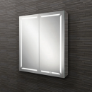 HIB Groove 60 LED Demisting Bluetooth Bathroom Cabinet 600 x 700mm
