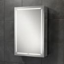 HIB Groove 50 LED Demisting Bluetooth Bathroom Cabinet 500 x 700mm