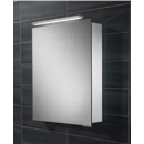 HIB Proton LED Aluminium Bathroom Cabinet 500 x 720mm