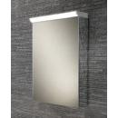 HIB Spectrum LED Aluminium Bathroom Cabinet with Mirrored Sides 500 x 700mm
