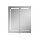 HIB Vapor 60 LED Demisting Aluminium Bathroom Cabinet 600 x 700mm