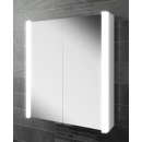 HIB Vita 60 LED Aluminium Bathroom Cabinet 600 x 700mm