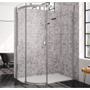 Merlyn 10 Series 1 Door Offset Quadrant Shower Enclosure Left Hand 1200 x 900mm