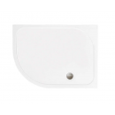 Merlyn MStone Offset Quadrant Shower Tray with Waste Left Hand 900 x 760mm