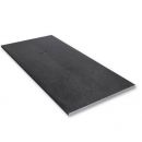 Merlyn Truestone Rectangular Shower Tray 1700 x 900mm Slate Black