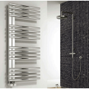 Reina Adora Stainless Steel Heated Towel Rail 800 x 500mm