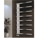 Reina Celico Stainless Steel Heated Towel Rail 585 x 500mm