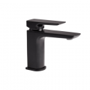 Roper Rhodes Elate Black Basin Mixer Tap with Click Waste