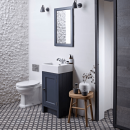 Roper Rhodes Hampton 450mm Cloakroom Unit with Basin Slate Grey