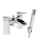 Roper Rhodes Sign Open Spout Bath Shower Mixer Tap with Shower Head