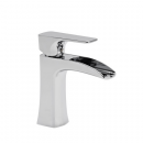 Roper Rhodes Sign Open Spout Mini Basin Mixer Tap with Click Waste