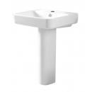 Tavistock Agenda 600mm Ceramic Basin with Pedestal