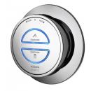 Aqualisa Quartz Smart Divert Concealed Shower with Adjustable Head & Bath Overflow Filler HP/Combi