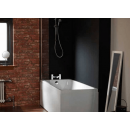 Carron Profile Single Ended Carronite Bath 1700 x 750mm