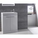Tavistock Kobe 560mm Freestanding Vanity Unit & Basin Gloss White